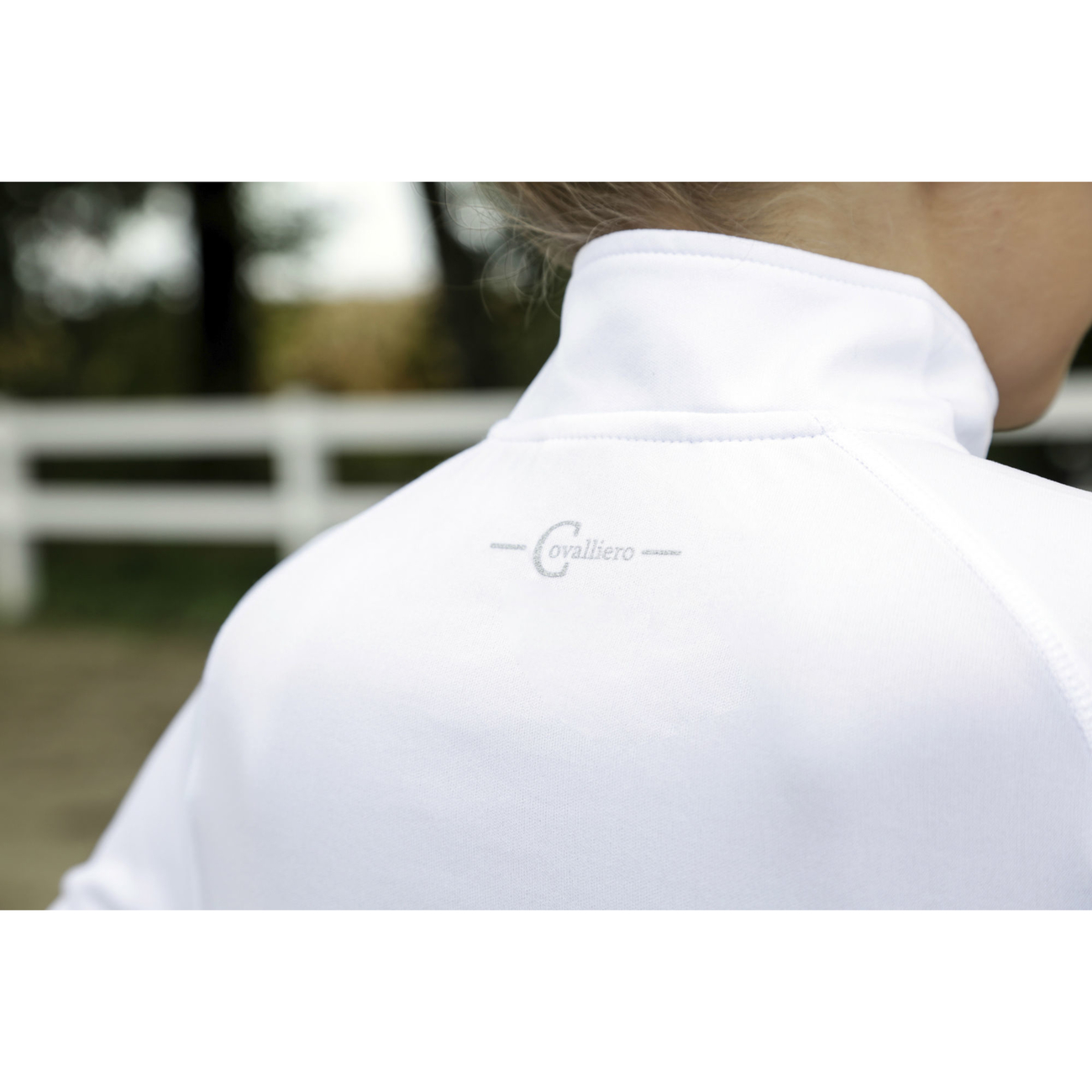 Covalliero Turniershirt Competition Shirt Premia white, Bild 3