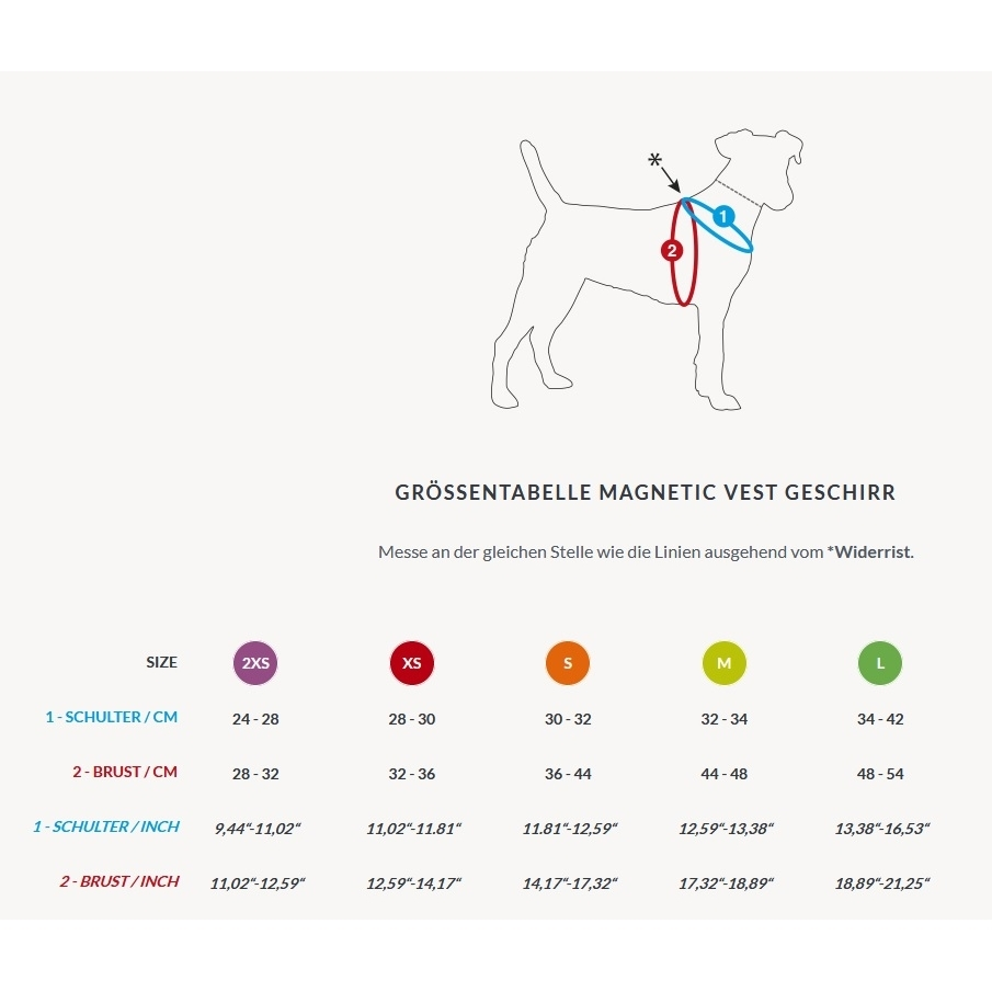Curli Magnetic Vest Geschirr Air-Mesh, Bild 6