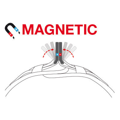 Curli Magnetic Vest Geschirr Air-Mesh, Bild 3