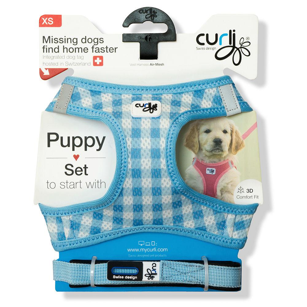 Curli Vest Geschirr mit Leine Puppy Welpen Set, Bild 7
