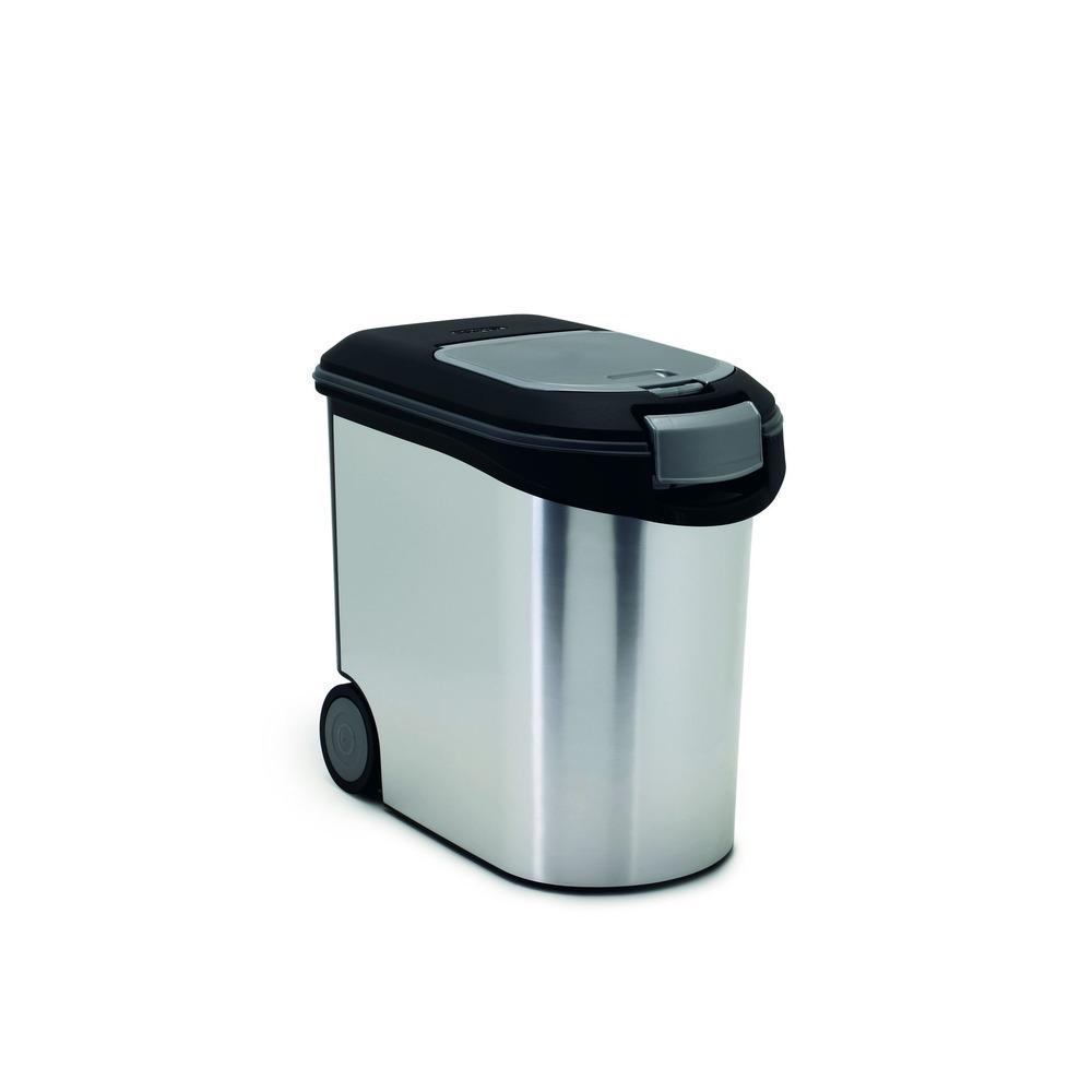 Curver Futtercontainer Futtertonne Metallic, Bild 6