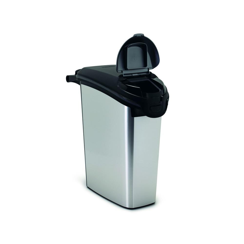 Curver Futtercontainer Futtertonne Metallic, Bild 10