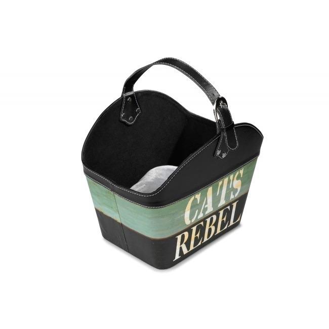 EBI D&D Cat-Basket Cat's Rebel Katzenkörbchen, 35x24x38cm