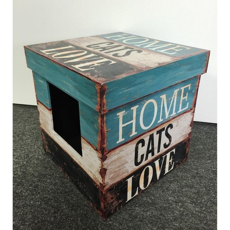 DREAM and DARE D&D Katzenbox Cat-Box Love, Bild 2