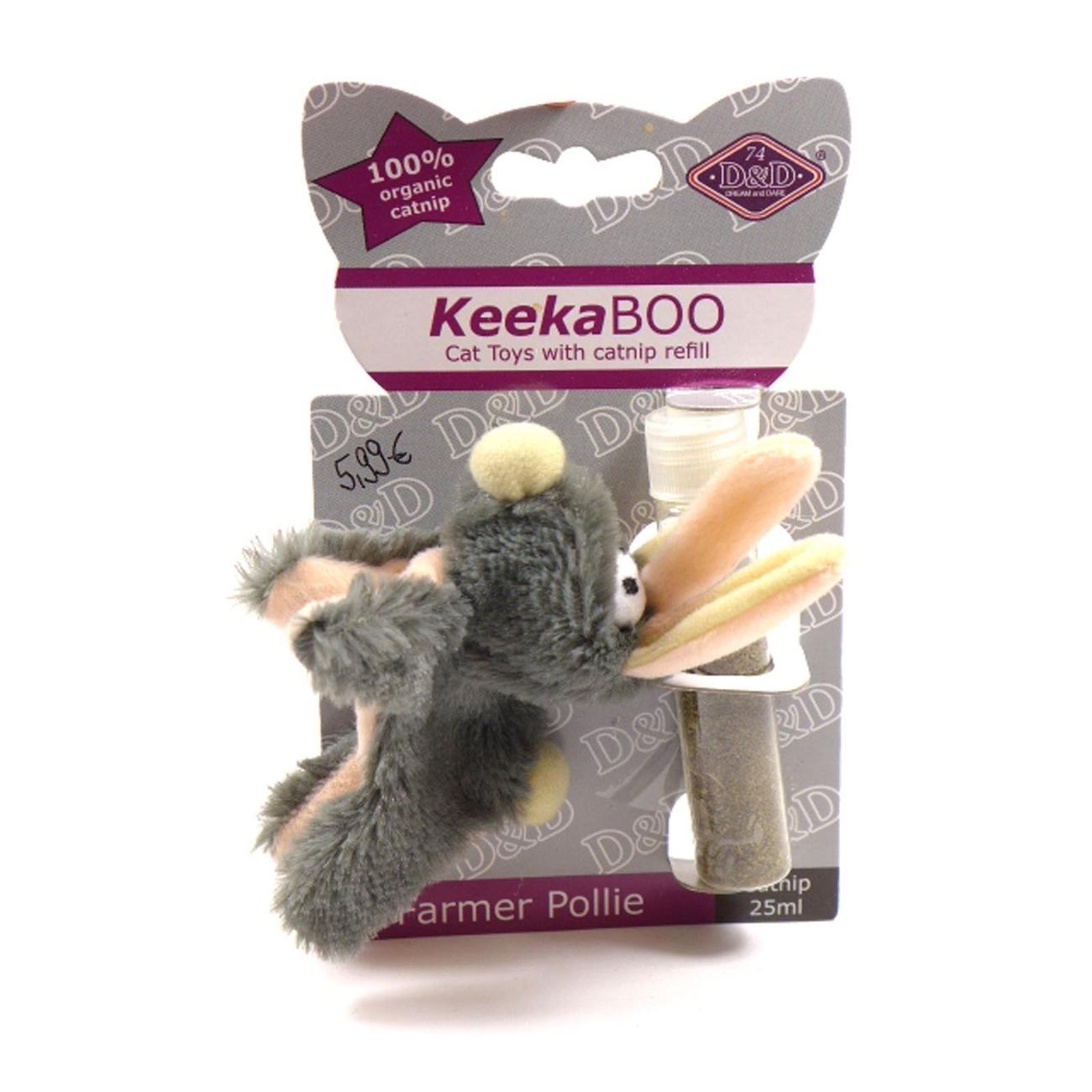 DREAM and DARE D&D KeekaBoo Catnip Spielzeug