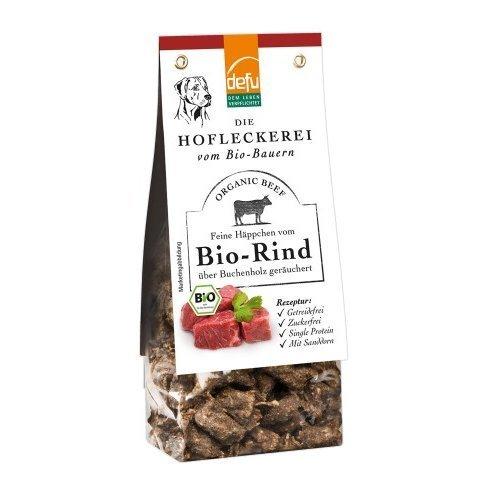 defu Hofleckerei - Feine Häppchen vom Bio-Rind, 125 g
