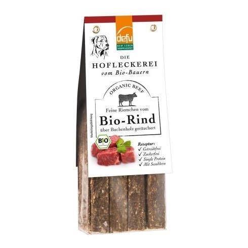 defu Hofleckerei - Feine Riemchen vom Bio-Rind, 125 g
