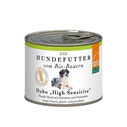 """defu Huhn """"High Sensitive"""" Hunde-Menü getreidefrei Preview Image"""