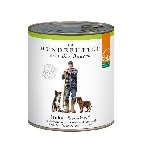 "defu Huhn ""Sensitive"" Hunde-Menü, Bild 4"