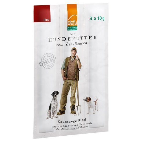 defu Hunde-Kaustange Rind, 3 x 10 g