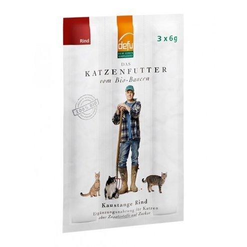 defu Katzen-Kaustange Rind, 3 x 6 g
