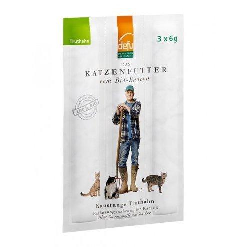 defu Katzen-Kaustange Truthahn, 3 x 6 g
