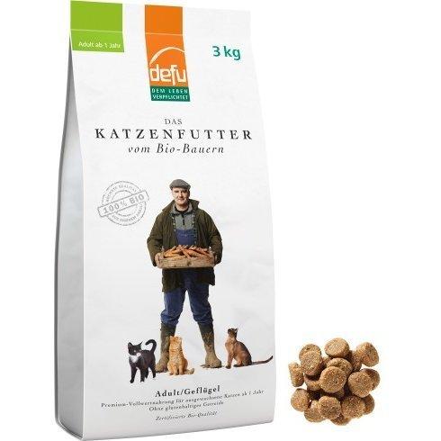 defu Katzenfutter Adult Geflügel, 3 kg