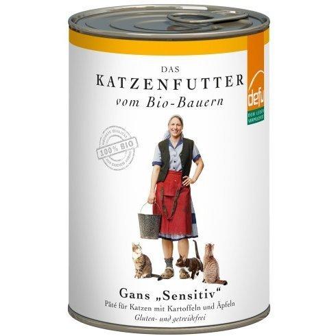 """defu Katzenfutter Gans """"Sensitive"""" Pâté, Bild 3"""