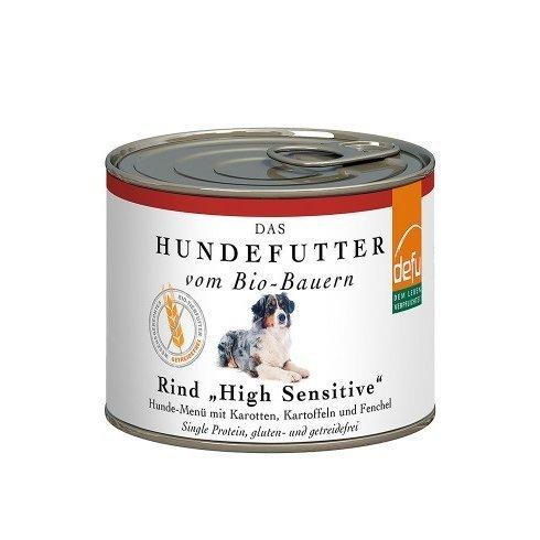"""defu Rind """"High Sensitive"""" Hunde-Menü getreidefrei Preview Image"""