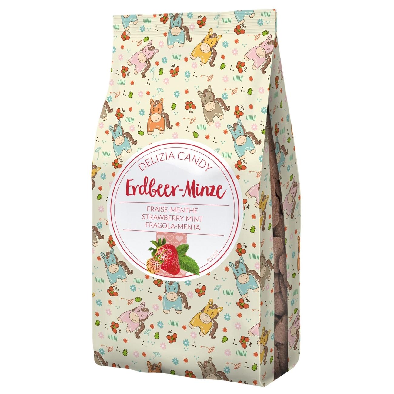 Kerbl Delizia Candy Leckerlie für Pferde, Erdbeere/Minze