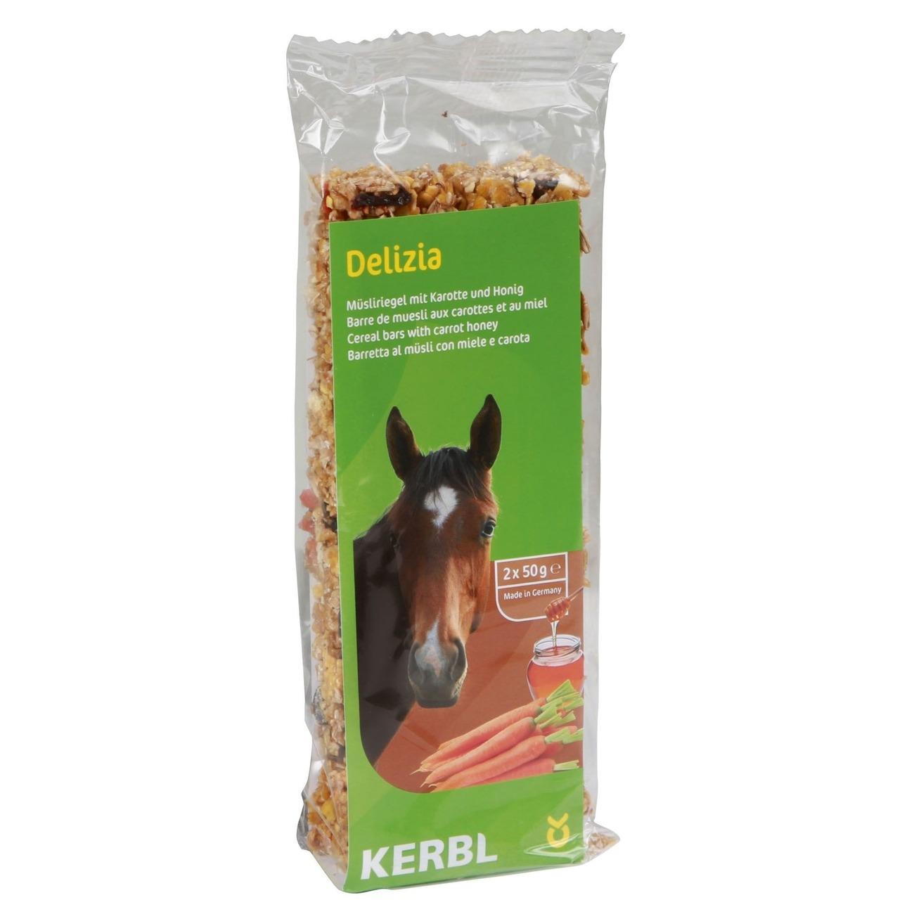 Kerbl Delizia Müsliriegel für Pferde