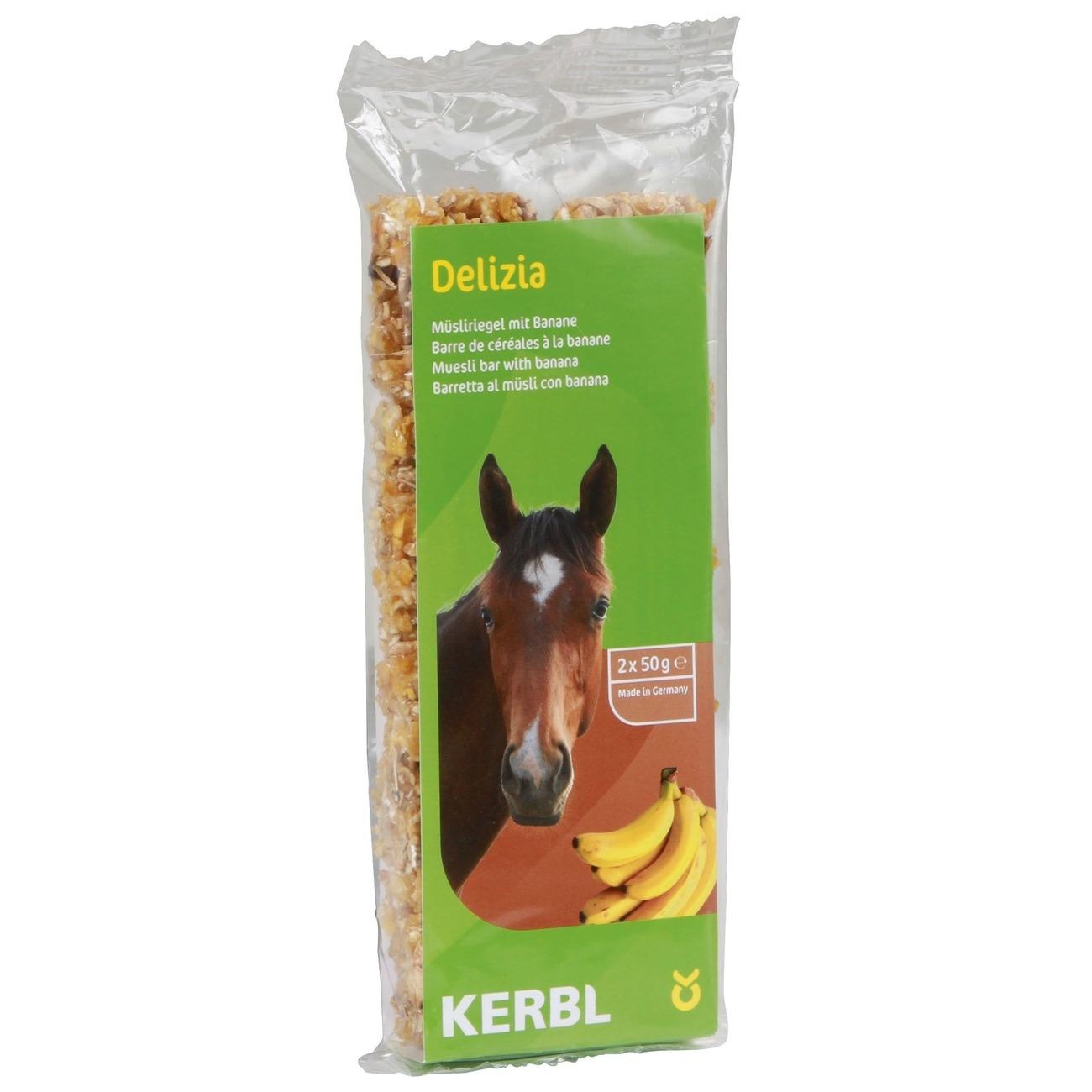 Kerbl Delizia Müsliriegel für Pferde, Bild 2