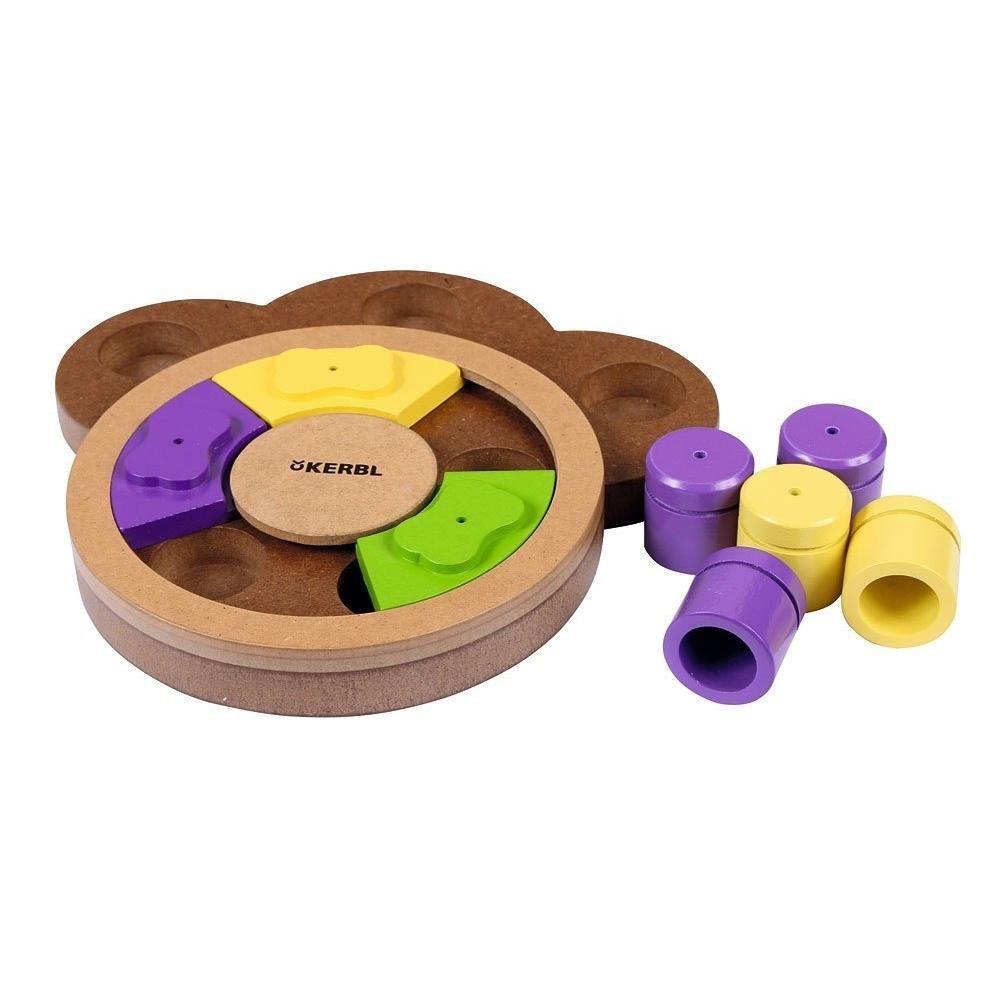 Kerbl Denkspielzeug Lernspielzeug PAW für Hunde, 22x23x4cm