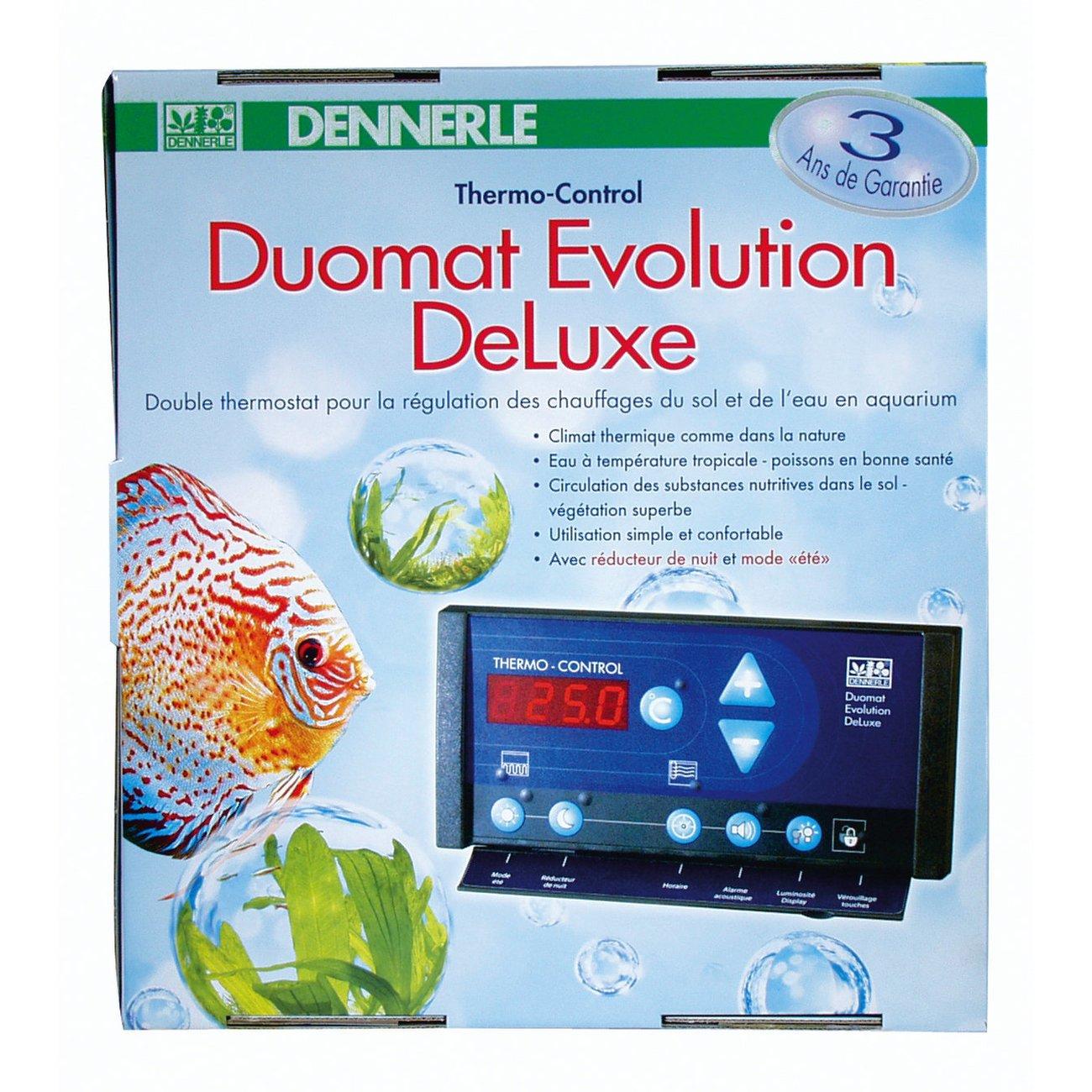 Dennerle DUOMAT Evolution DeLuxe, Heizungssteuerung