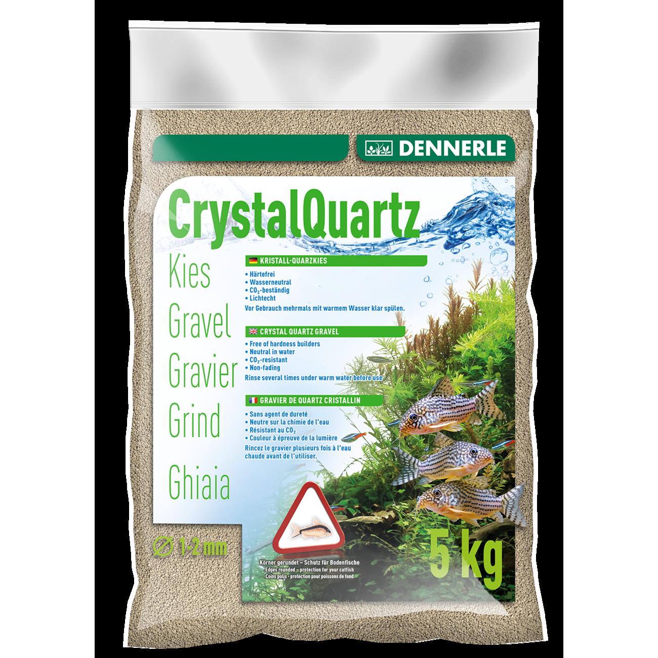 Dennerle Kristall-Quarzkies, 5 kg, naturweiß