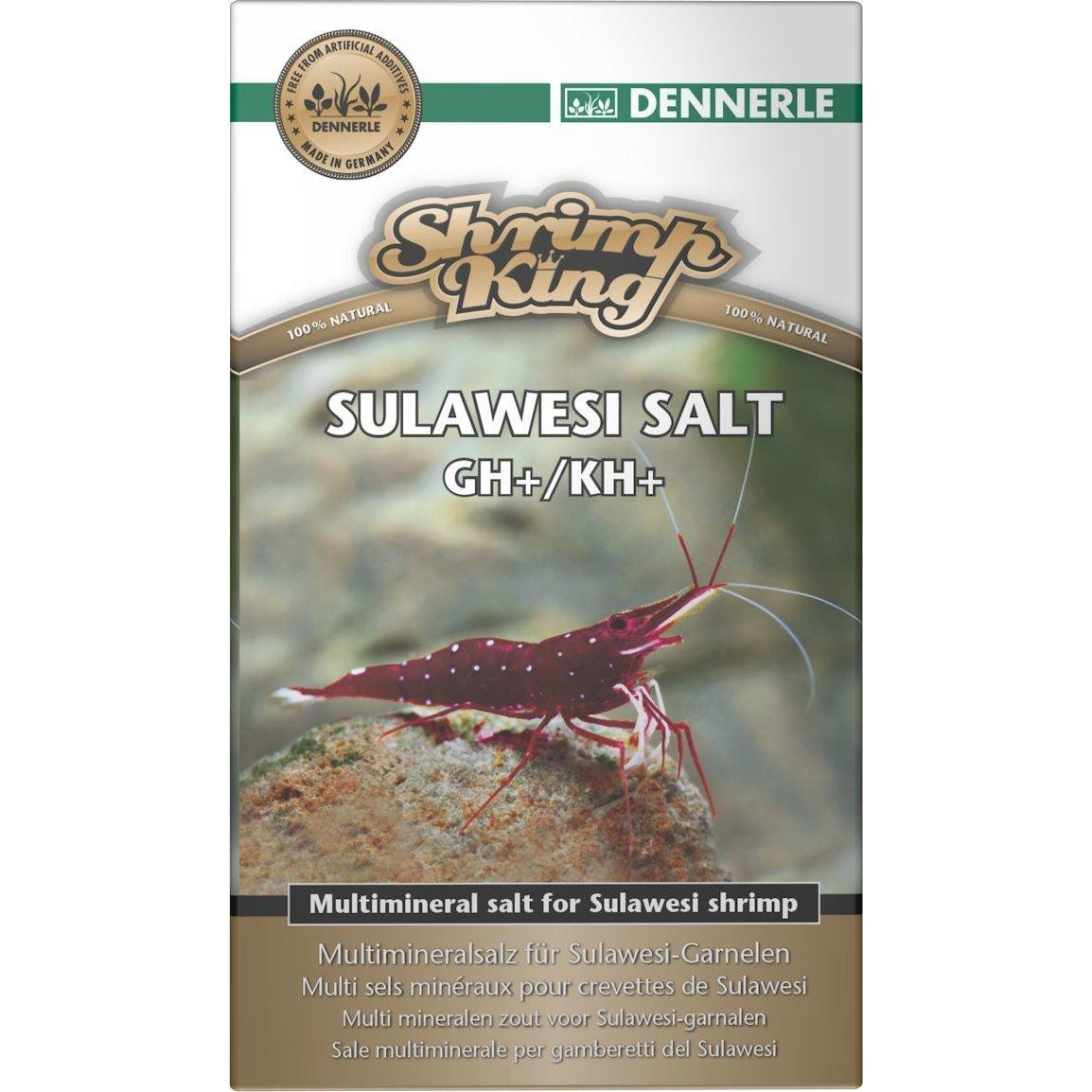 Dennerle Shrimp King Sulawesi Salt GH+/KH+, 200 Gramm