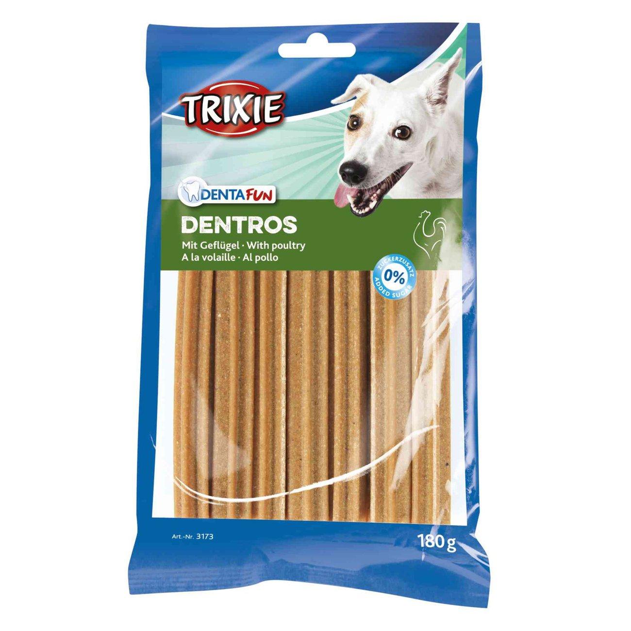 Denta Fun Dentros Zahnpflege Hunde Kaustangen Bild 1