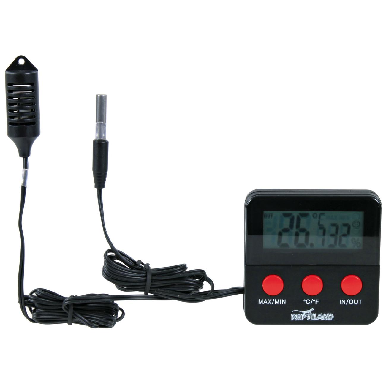 TRIXIE Digital Thermometer Hygrometer mit Fühler 76114