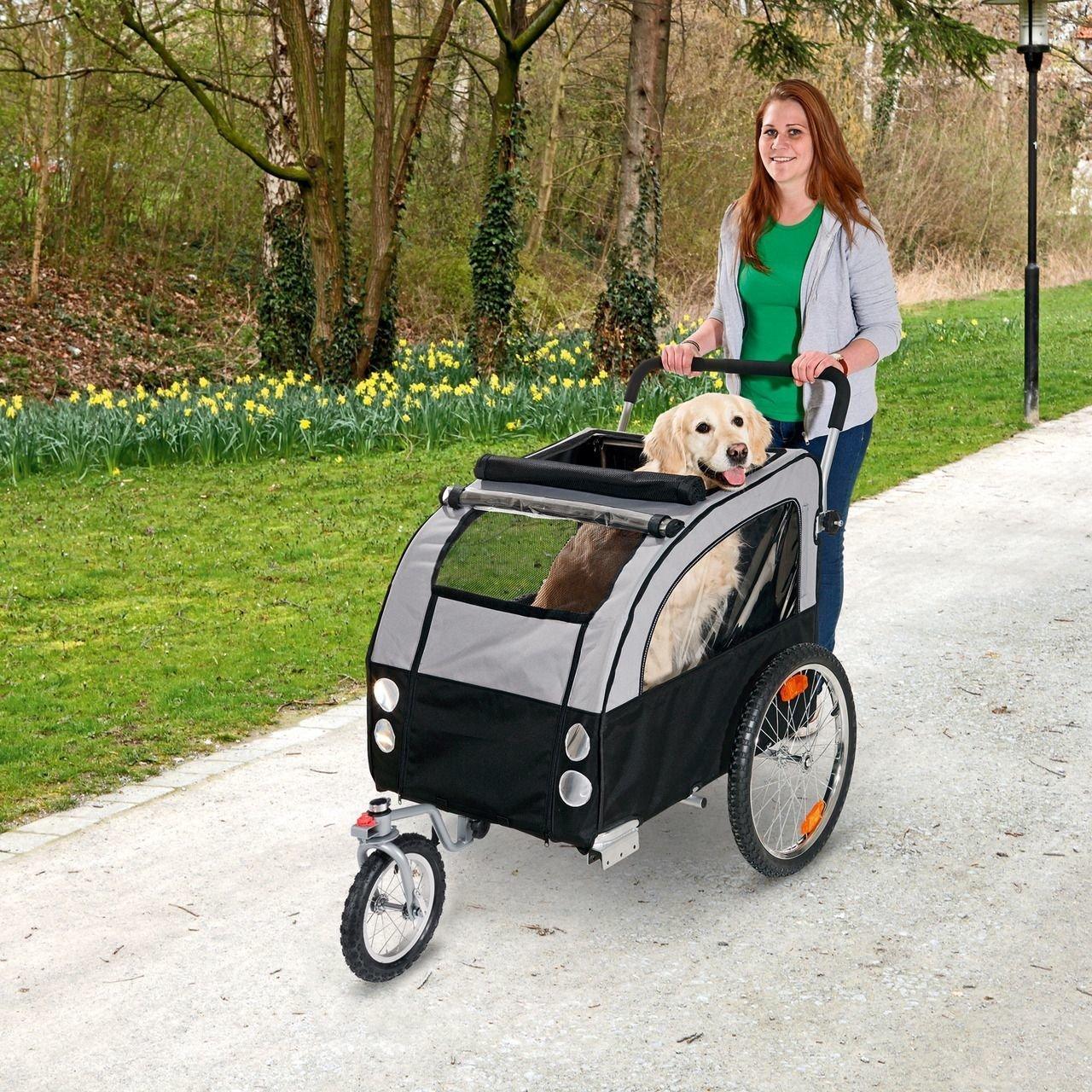 Karlie Doggy Liner Berlin Teflon® Fahrradanhänger für Hunde, Bild 6