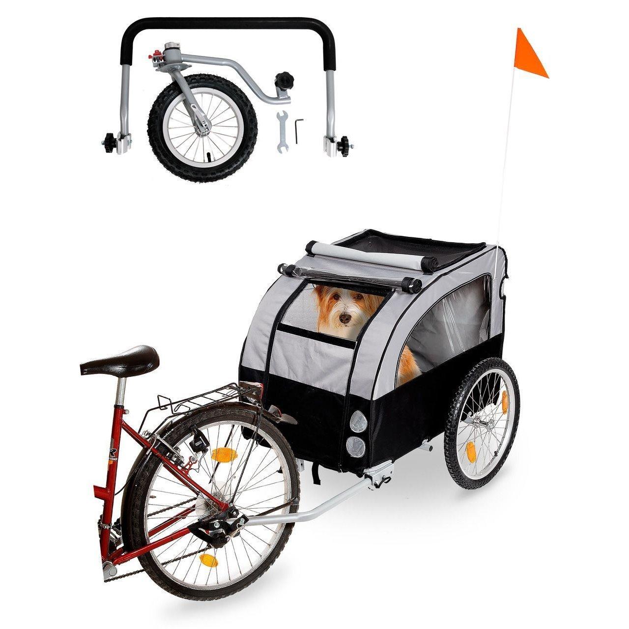 Karlie Doggy Liner Berlin Teflon® Fahrradanhänger für Hunde, Bild 3