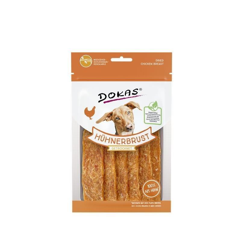 Dokas getrocknete Hühnerbrust, 70 g