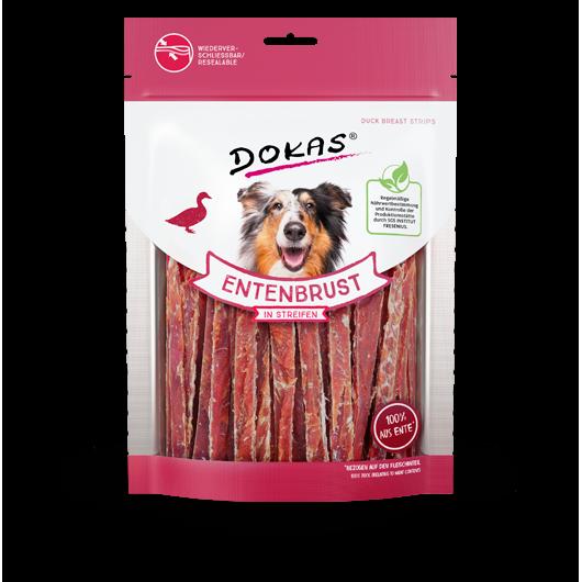Dokas Hundesnack Entenbrust in Streifen Kaustreifen, Bild 3