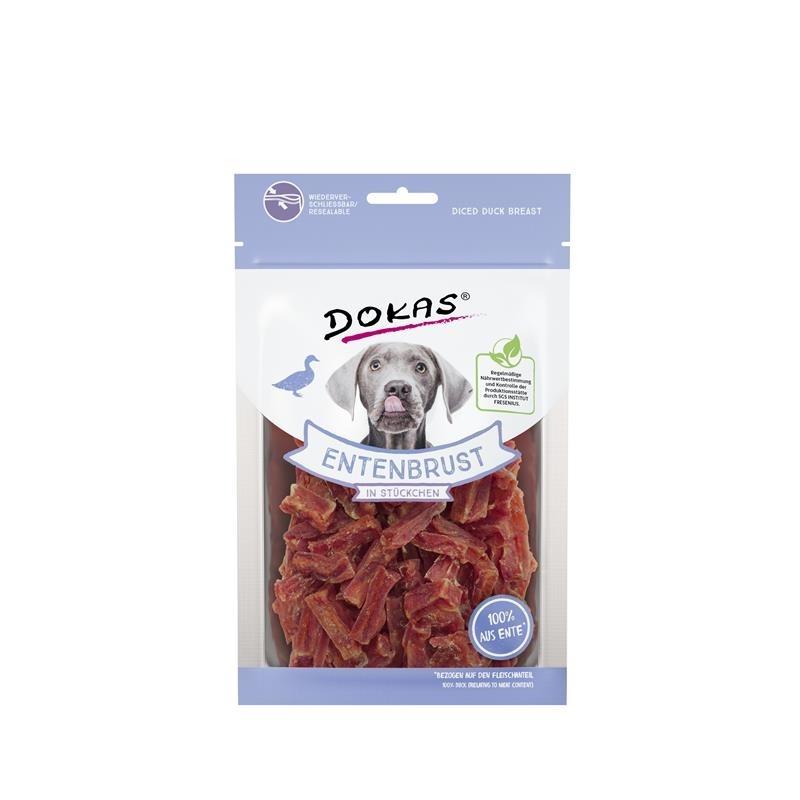 Dokas Hundesnack Entenbrust in Stückchen