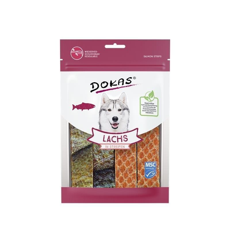 Dokas Lachs in Streifen, 100 g