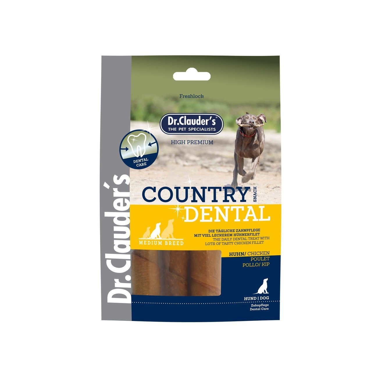 Dr. Clauders Country Dental Hundesnack Medium Breed