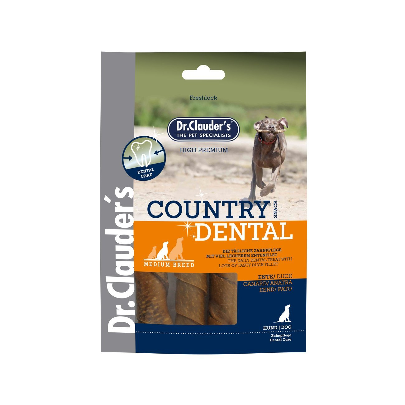 Dr. Clauders Country Dental Hundesnack Medium Breed, Bild 2