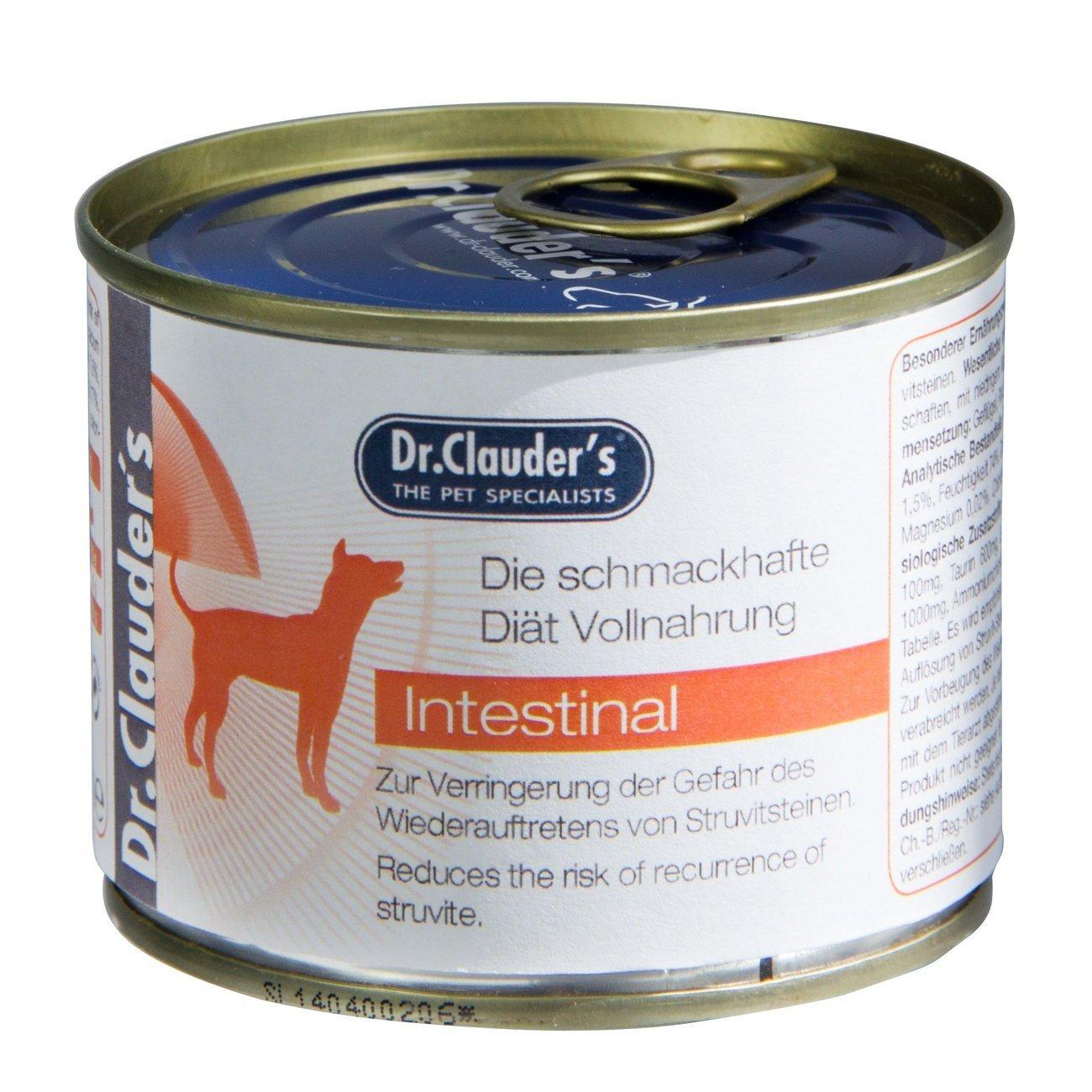 Dr. Clauders Diät Hundefutter IRD Intestinal, 6x200g