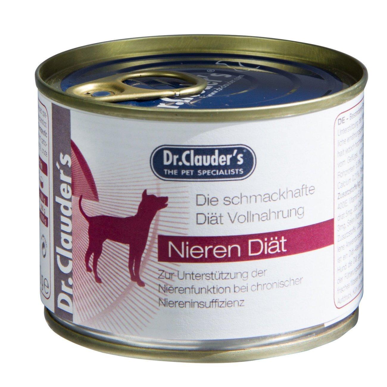 Dr. Clauders Diät Hundefutter RSD Nierendiät, 6x200g
