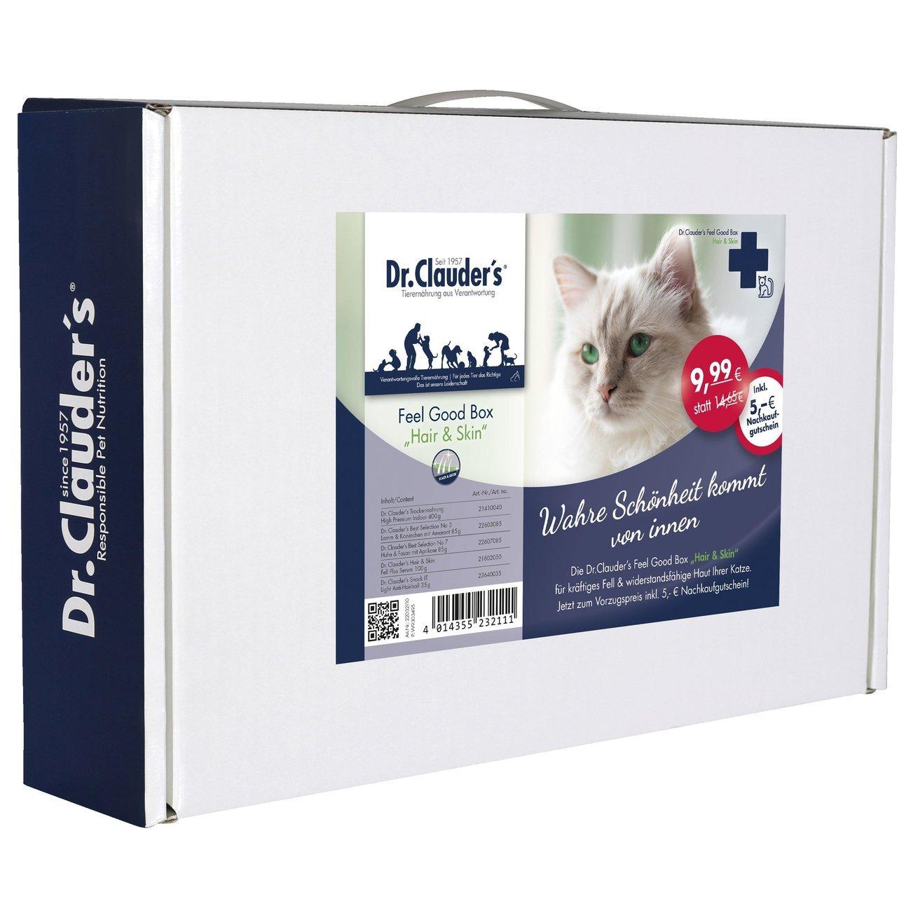 Dr. Clauders Feel Good Box für Katzen