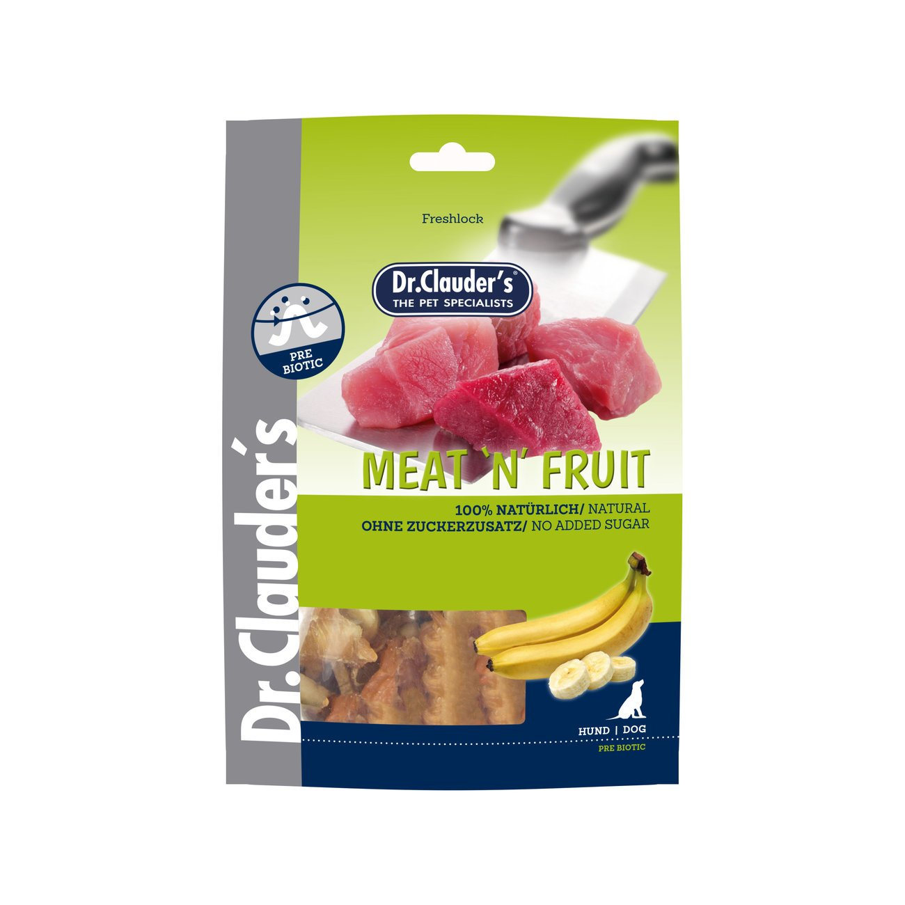 Dr. Clauders Meat'n'Fruit Hundesnacks, Bild 2