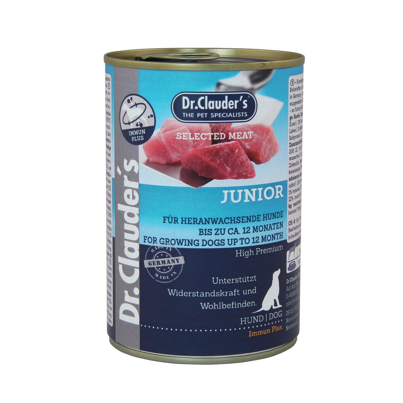 Dr. Clauders Selected Meat Junior Immun Plus