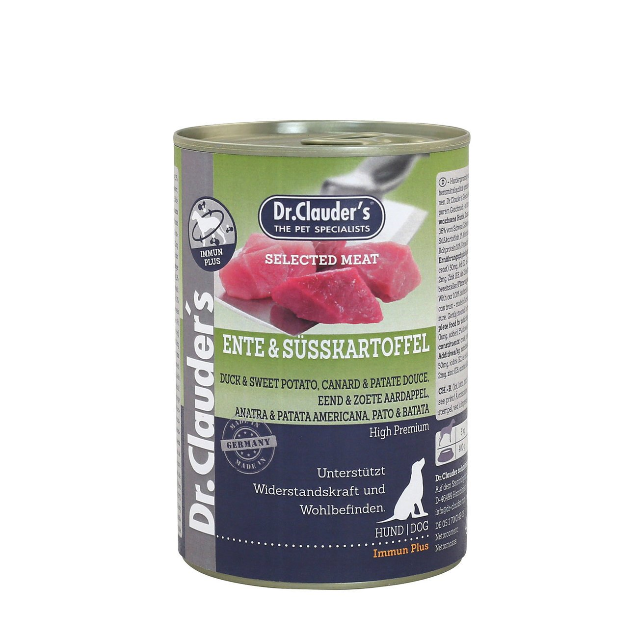 Dr. Clauders Dr Clauders Selected Meat Immun Plus Nassfutter Hundefutter
