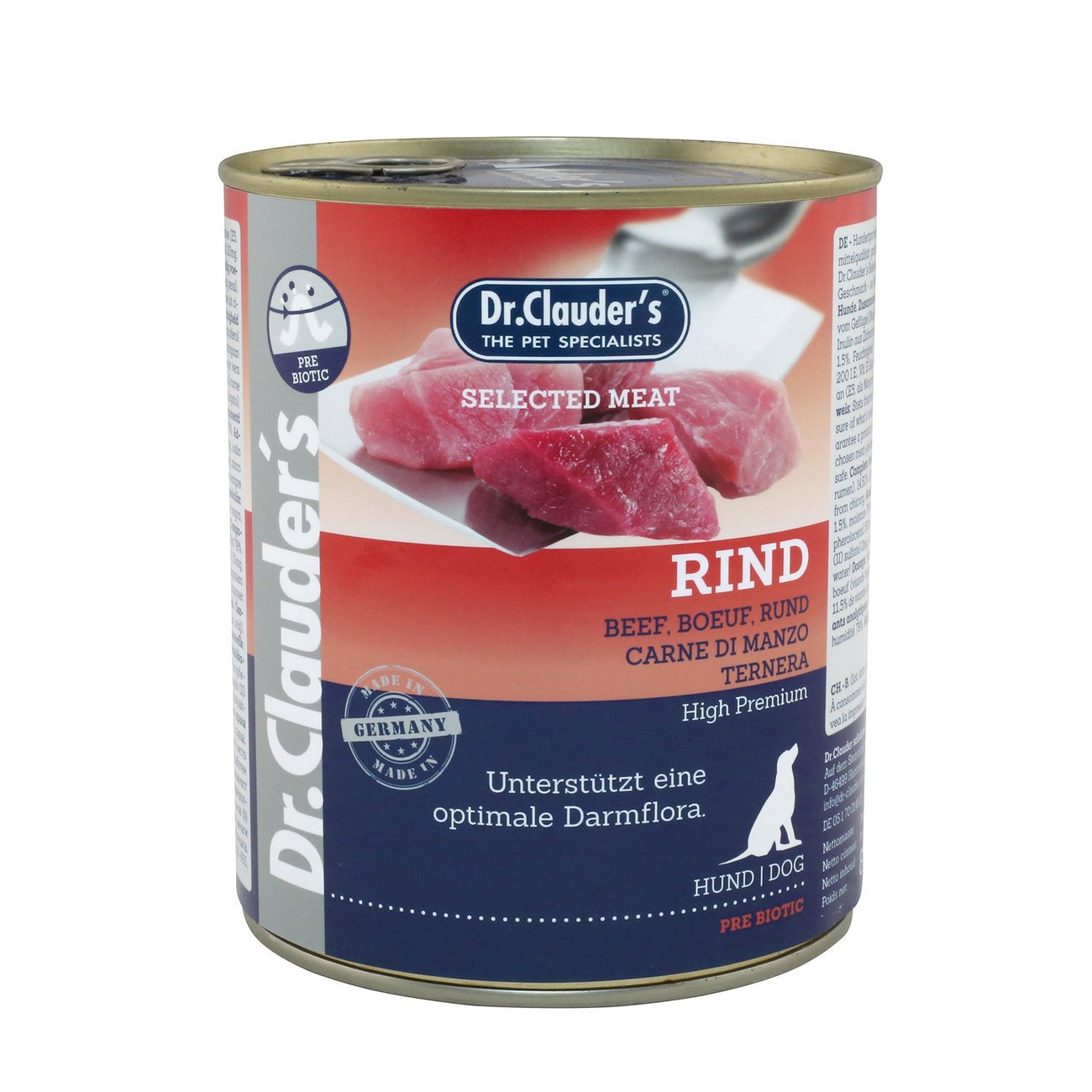 Dr. Clauders Selected Meat Prebiotics in Dose