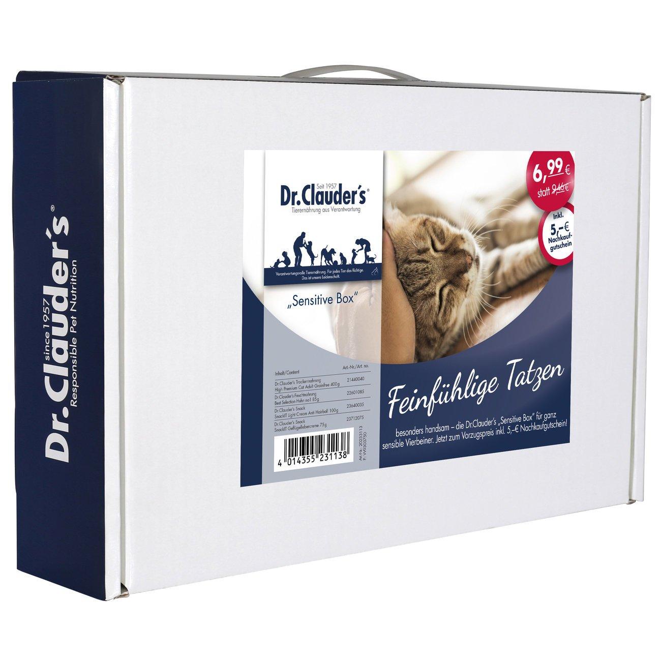 Dr. Clauders Sensitive Box für Katzen