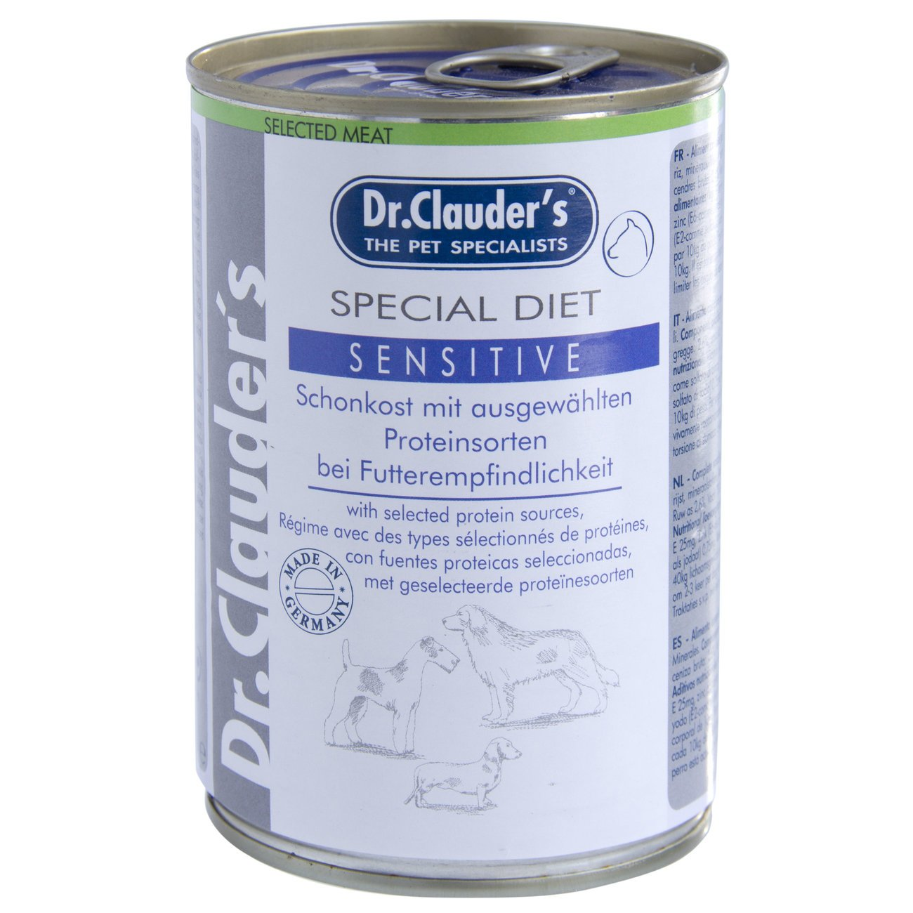 Dr. Clauders Special Diet Diät Schonkost Hundefutter