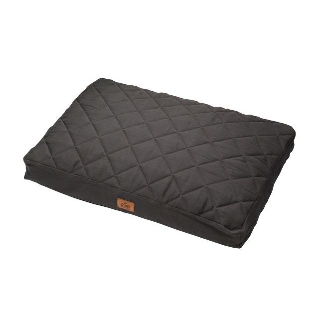 DREAM and DARE Premium Dream & Dare Hundekissen Perfect Quilt, 100x70xH12cm/dark-grey