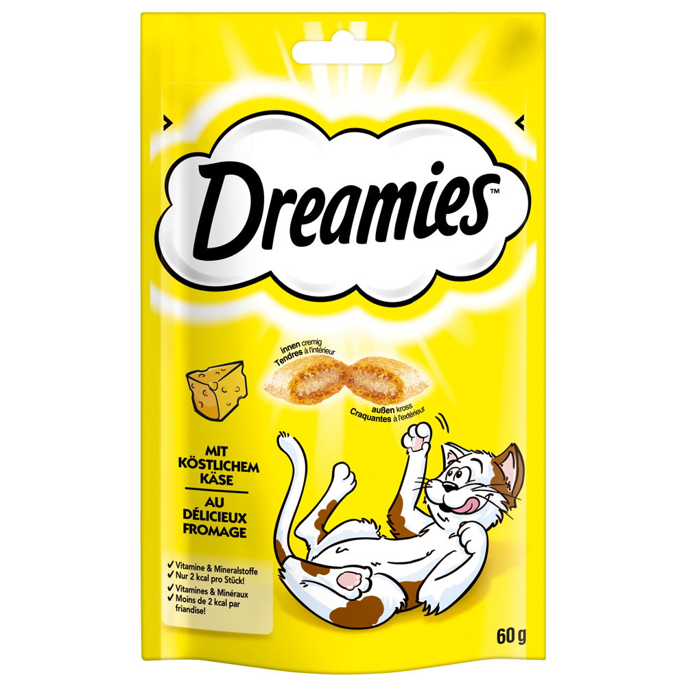 Dreamies - Snack, Extra Crunch, Snack Mix - für Katzen