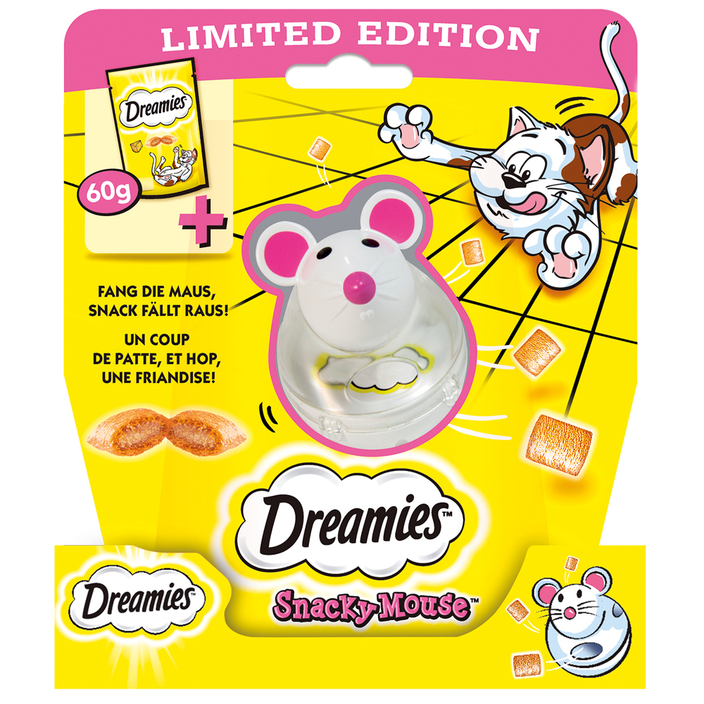 Dreamies - Snack, Extra Crunch, Snack Mix - für Katzen, Bild 8
