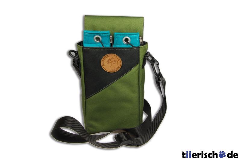 Firedog Dummytasche Duo Bag, khaki/schwarz