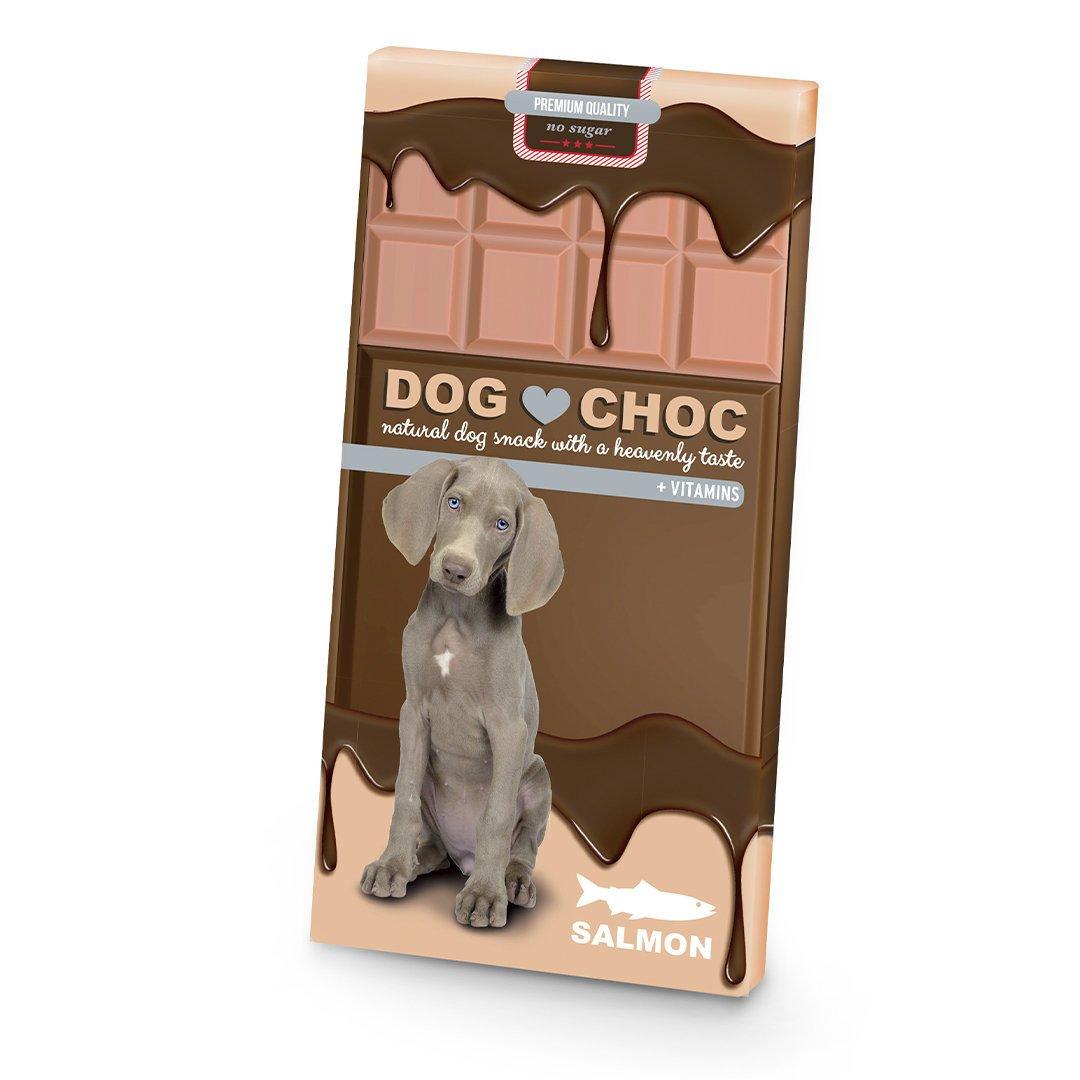 EBI Dog Choc Lachs Hundeschokolade, 100g